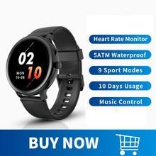 Blackview ساعة متصلة للرجال والنساء ، لهواتف Android و IOS ، ومراقبة النوم ، ومعدل ضربات القلب ، وبطارية طويلة جدًا ، جديدة