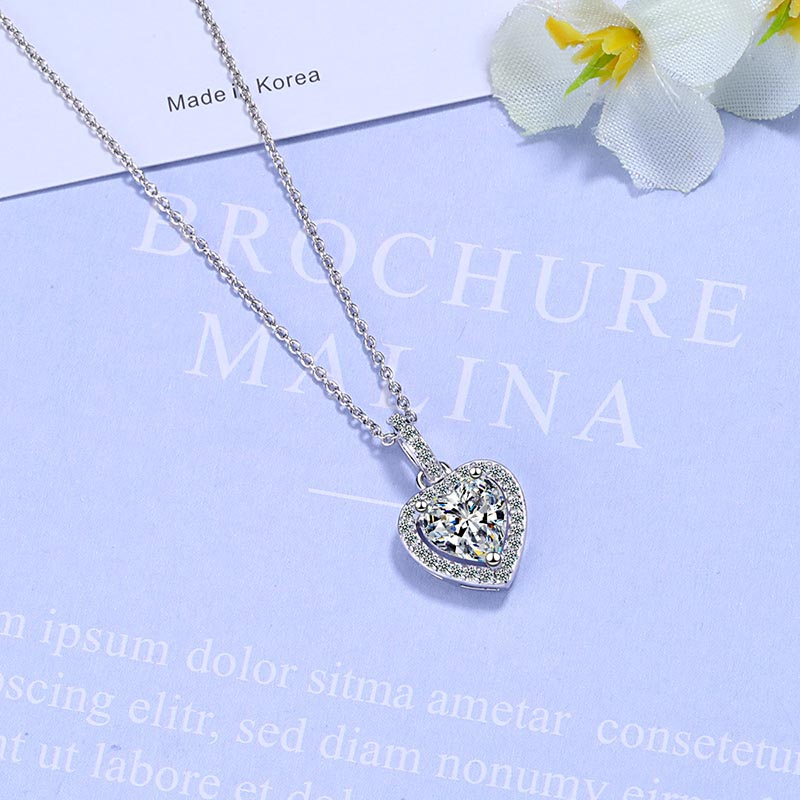pendant necklace 925 silver jewelry for women 4