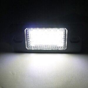 Image 5 - 2 stücke 12V Weiß 6000K LED Kennzeichen Lichter Lampe für Porsche Cayenne 955 957 für VW Golf 5 Passat B 5,5 5D Touareg Tiguan