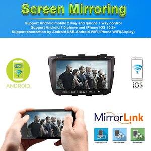 Image 2 - 4G + 64G Android 9.0 Auto Dvd Voor Kia Sorento 2013 2014 Auto Radio Gps Navigatie Met Steering wheel Control Camera Tape Recorder