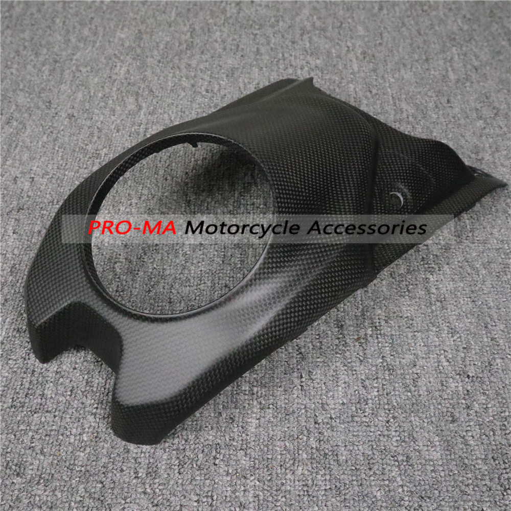 Fuell Tank Cover In Carbon Fiber For Ducati Hypermotard 950 2019-2020 Plain Matte Weave