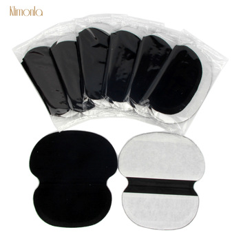 100Pcs Black Summer Underarm Absorbing Sweat Deodorant Armpit Antiperspirant Disposable Pads Dress Clothing Shield Perspiration 1