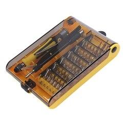 Zestaw wkrętaków 46 w 1 patenty projektowe magnetyczne precyzyjne śrubokręty ćwierć zapadkowy śrubokręt bity zestaw słuchawkowy Multi w Śrubokręty od Narzędzia na