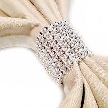 Кольца для салфеток, стулья с пряжками, разноцветные свадебные украшения, банты со стразами, вечерние украшения ручной работы