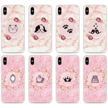 Custom Photo Marble Pink Rose Silicone Cover For Umidigi A3X A3S F2 F1 Play X One Max A5 A3 A7 S2 S3 S5 Pro Power 3 Phone Case custom photo black marble quote silicone cover for umidigi a3x a3s f2 f1 play x one max a5 a3 a7 s2 s3 s5 pro power 3 phone case