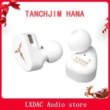 Tanchjim-écouteurs intra-auriculaires HANA, Audio dynamique, avec 2 broches, câble détachable de 0.78mm, oxygène