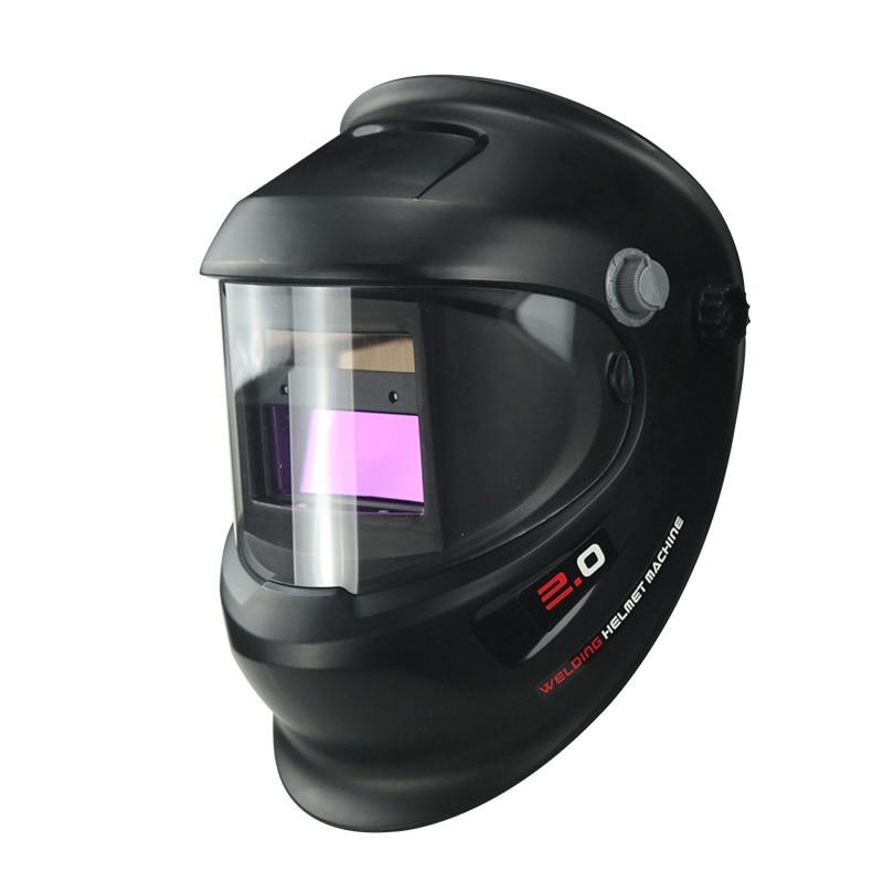 Anti Fog Up Solar Power Auto Darken Welder Helmet// 180°Panorama View Welder Mask