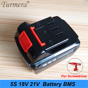 Image 4 - 5S 18v 21v 20A 18650 Li ion Lithium Battery BMS for Screwdriver Shura Charger Protection Board fit for Turmera