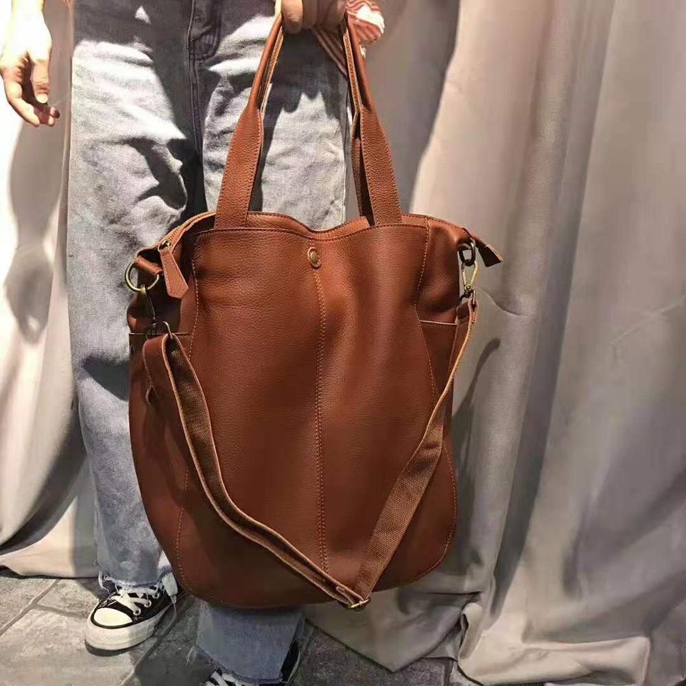 Роскошные женские сумки из натуральной кожи, брендовые дизайнерские сумки на плечо, женская сумка через плечо, Женская вместительная сумка-...