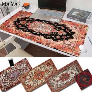 Maiya Топ персидский мини тканый коврик игровой плеер Настольный Ноутбук резиновый коврик для мыши Бесплатная доставка большой коврик для мы...