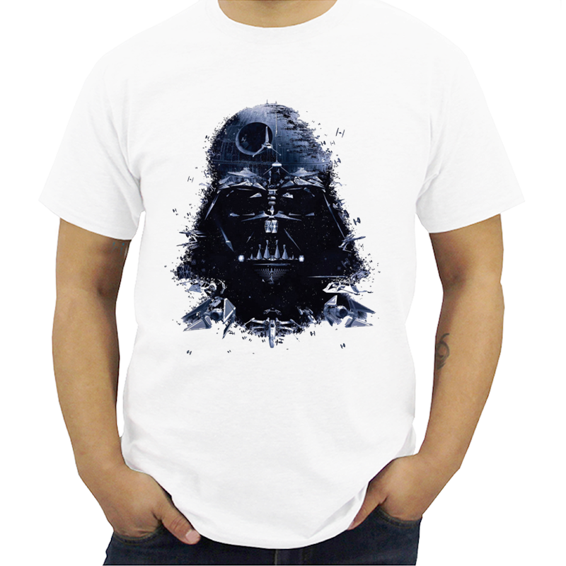 Star War T-shirts Printed ArmorLock T Shirt Men Funny Novel Men 's Top Tees Harajuku Style Warrior T Shirt Darth Vader Camiseta image