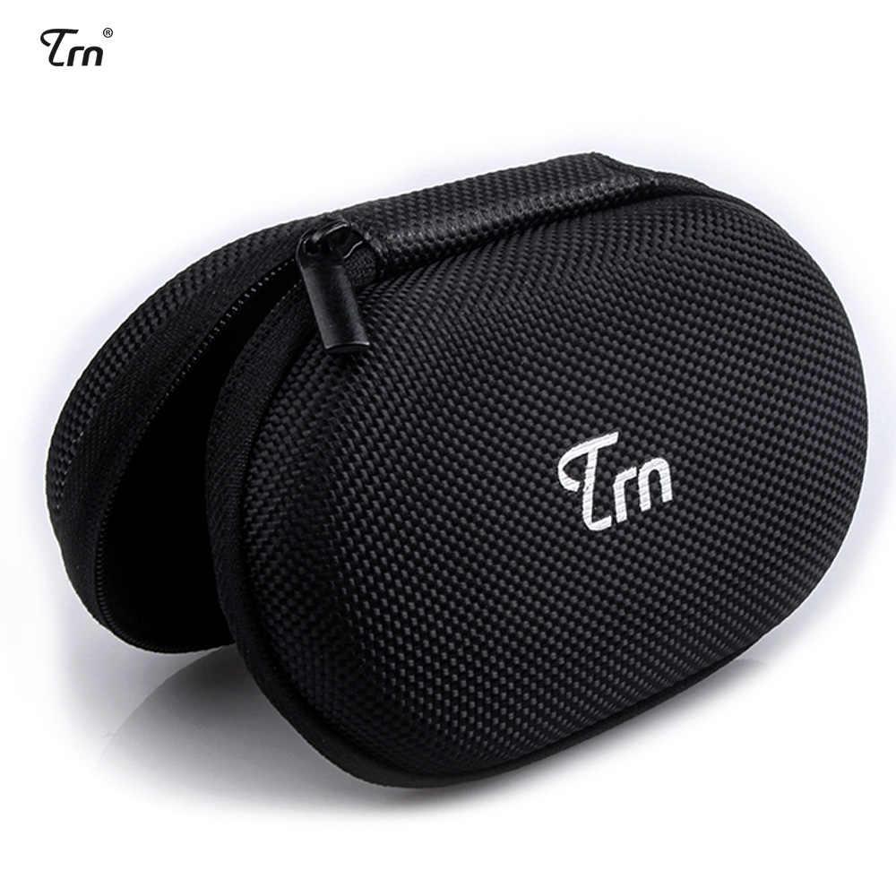 TRN หูฟังแบบพกพาสำหรับหูฟังและหูฟังกล่องหูฟังอุปกรณ์เสริมสำหรับ X6 V9 V8 AS10 หูฟัง