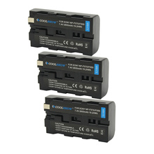 NP-F550 Battery for Sony NP F970 F750 F770 F960 F530 F330 F570 CCD-SC55 TR516 TR716 TR818 TR910 TR917 2600mAh Battery Charger doscing 4pcs 7200mah np f960 np f970 np f930 rechargeable camera battery for sony f950 f330 f550 f570 f750 f770 mvc fd51