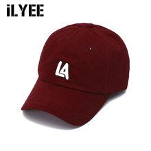 ILYEE – Casquette de Baseball unisexe pour hommes et femmes, chapeau ajustable en coton rouge et jaune, pour papa, nouvelle collection été 2021