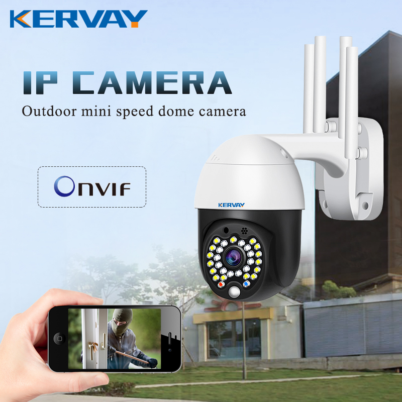 Ip-Camera PTZ Pan Tilt Network Cctv Wifi Speed-Dome Surveillance Ycc365 Plus 1080P Wireless title=