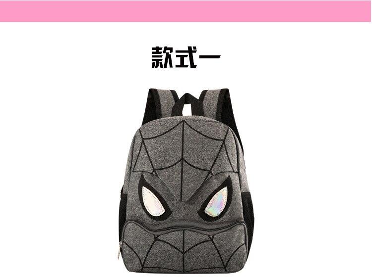 3d mochila homem aranha dos desenhos animados
