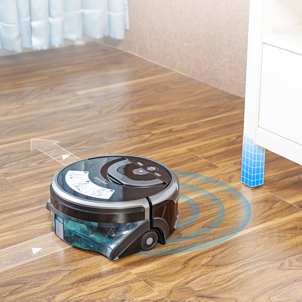 ILIFE New W400 Mopping Robot Vacuum Cleaner With Navigation Water Tank 4