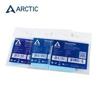 Esteira térmica eficiente alta 50x50mm da espessura da condutibilidade 6.0mm 0.5mm 1.0mm da almofada térmica do ártico 1.5 w/mk|null| |  -