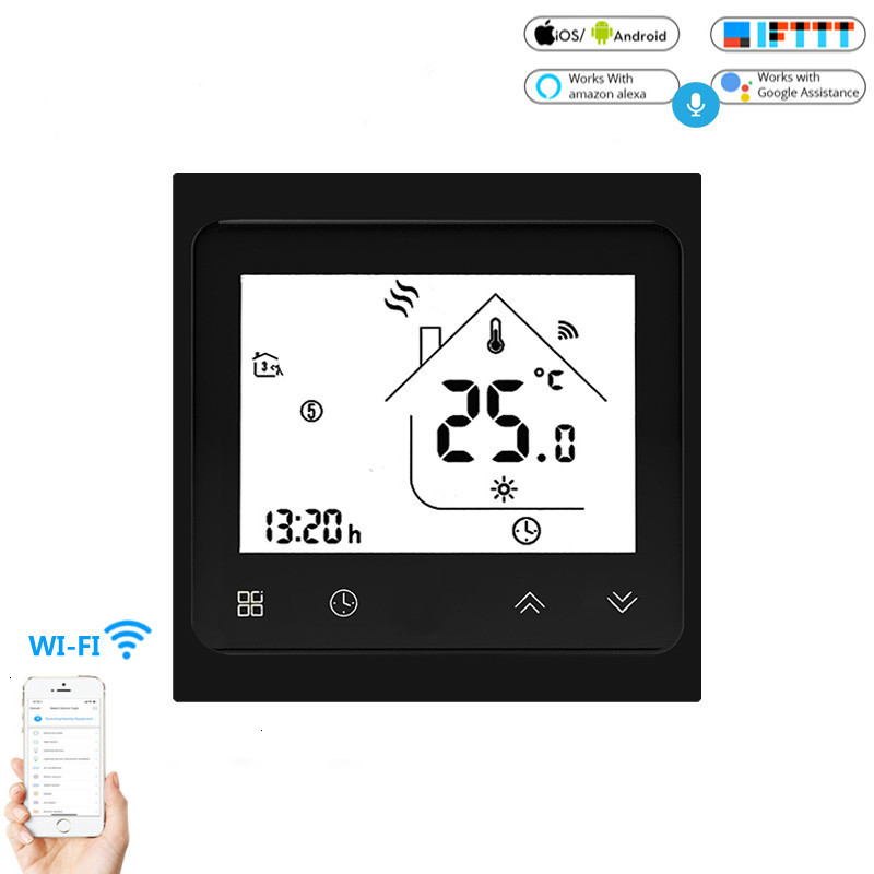 Smart Thermostat WiFi Temperature Controller Smart Life APP Remote Control For Water Heating 3A Works With Alexa Google Home
