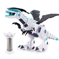 Remote control spray dinosaur model large mechanical dinosaur early taught electric walking light music toys
