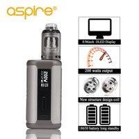 Электронная сигарета Aspire Speeder Kit электронные сигареты 2 мл атомайзер Athos Vape Tank 510 поток 200 Вт мод подходит 18650 батарея Vapeador