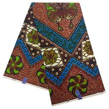 Ankara African wax veritable real wax Fabric Africa prints fabric 100% Cotton high quality Sewing Dress Material LBL-154 ankara african wax print fabric real wax fabric africa prints fabric 100