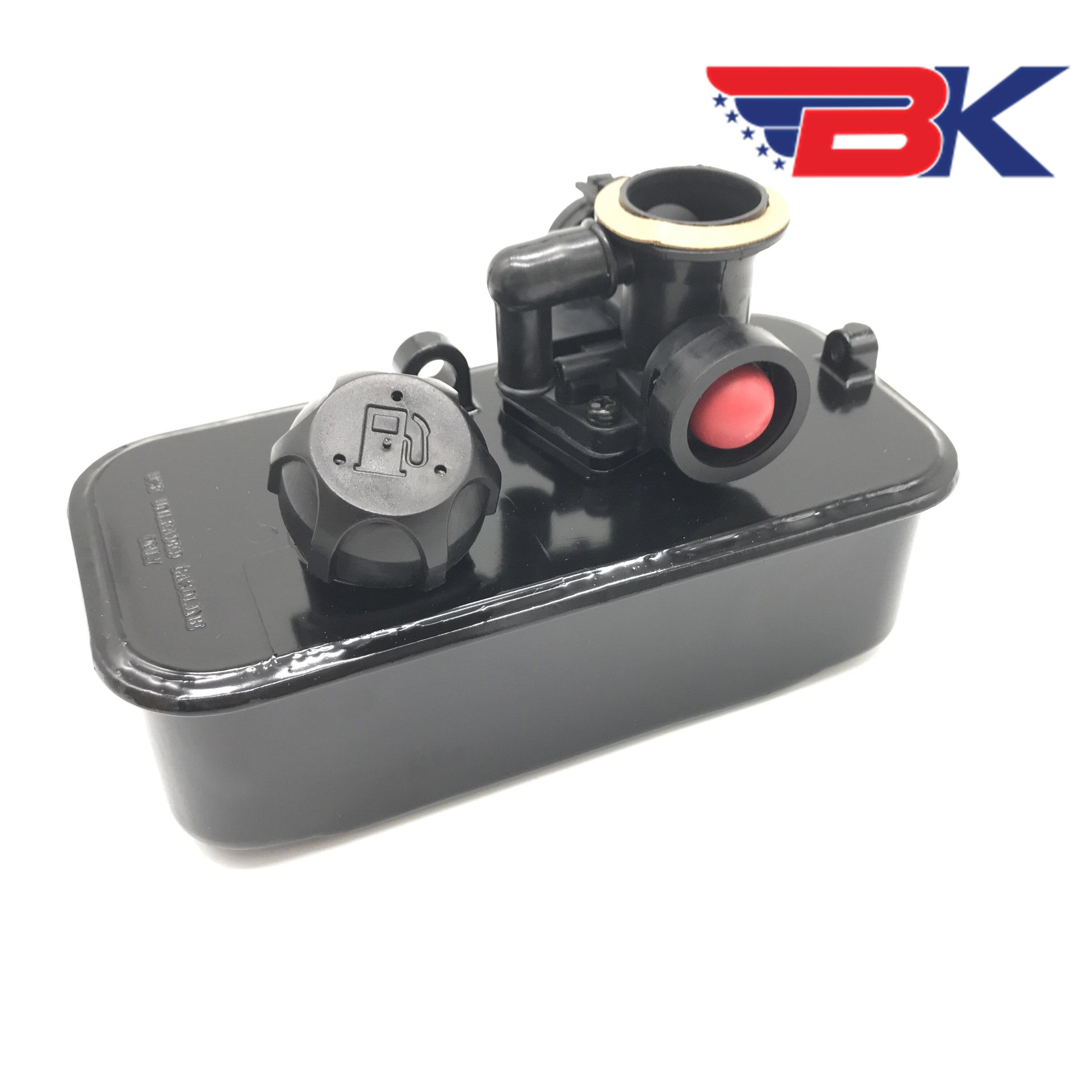 Carburetor Assembly & Fuel GAS TANK For Briggs & Stratton 499809 498809A 494406