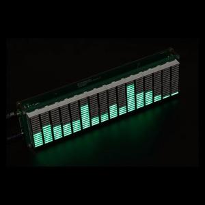 Image 2 - רמת LED מוסיקה אודיו ספקטרום מחוון 16 רמת VU מטר מסך תצוגת מגבר לוח דיוק שעון מתכוונן AGC מצב
