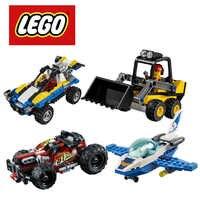 LEGO City grands véhicules Kayak aventure ciel Police Jet Kit de construction Lego Ninjago Duplo Marvel blocs de construction bricolage éducatif