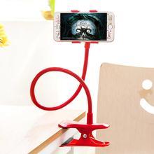 Uchwyt na telefon dla leniwych 360 stopni obracanie elastyczne długie ramiona klip biurko łóżko leżące w łóżku oglądania filmów uniwersalny stojak na telefon tanie tanio centechia Nie ma żadnych cech CN (pochodzenie) Universal Cell Phone Holder 60cm
