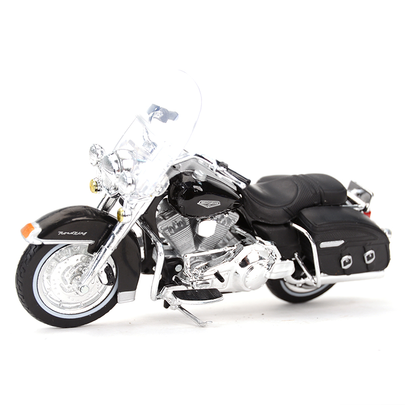 Maisto 1:18 2001 FLHRC Road King Classic Diecast Alloy Motorcycle Model Toy