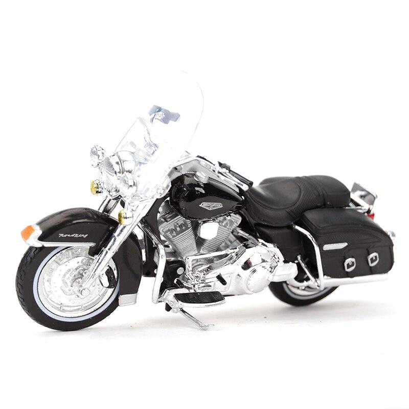 Maisto 1:18 2001 FLHRC Road King классический Литой Сплав модель мотоцикла Игрушка|Игрушечный транспорт|   | АлиЭкспресс