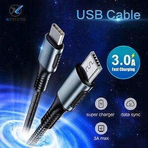USB Type C к Micro Usb кабель для Samsung Galaxy S7 S6 Android Быстрая зарядка мобильный телефон зарядное устройство Шнур для Huawei USB PD кабель
