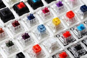 Image 3 - 81 commutateurs de commutation testeur avec socle acrylique keycaps vierges pour clavier mécanique cherry kailh gateron outemu ice greetech box