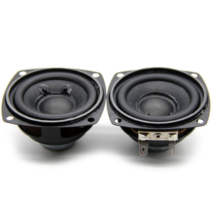 2Pcs 2.5 Inch Portable Speakers 4Ohm 10W 66MM Full Range Audio Speaker Bass Multimedia Neodymium Magnet Loudspeaker