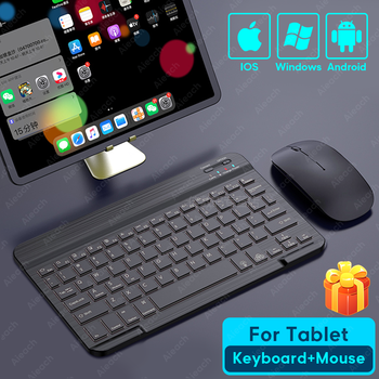 Tablet Wireless Keyboard For iPad Pro 2020 11 12.9 10.5 Teclado, Bluetooth Keyboard Mouse For iPad 8th 7th 6th Air 4 3 2 mini 5 1