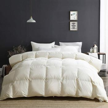 Peter Khanun Luxury All SeasonsGoose Down Duvet 100% Cotton Quilted Quilt King Queen Full Size Comforter Winter Thick Blanket