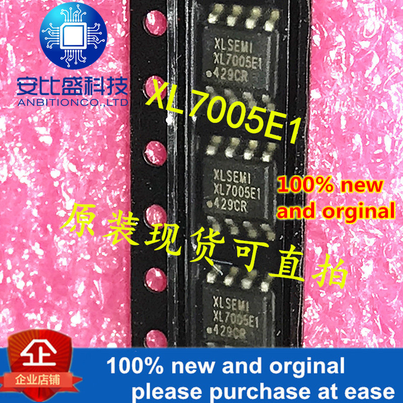 10pcs 100% New And Orginal XL7005A XL7005E1 XL7005 SOP8 0.4A 150KHz 80V Buck DC To DC Converter In Stock