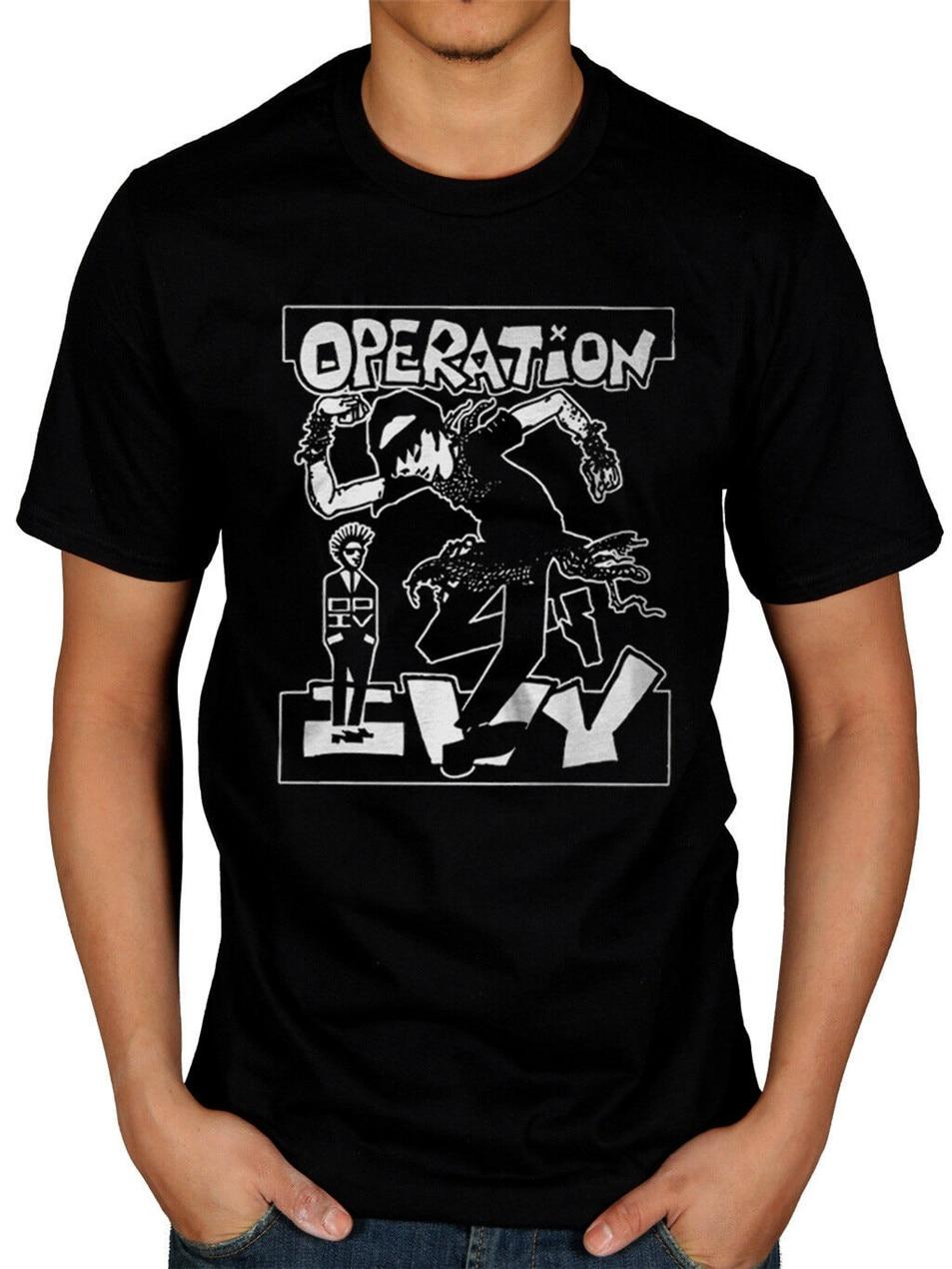 Operation Ivy Skankin T-Shirt Lint Rides Again Seedy Hectic King 2Xl 3Xl 4Xl 26Xl Tee Shirt