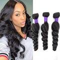 Бразильские свободные волнистые человеческие волосы, волнистые волосы Remy, пряди, пряди для наращивания волос, 1B цвет для черных женщин
