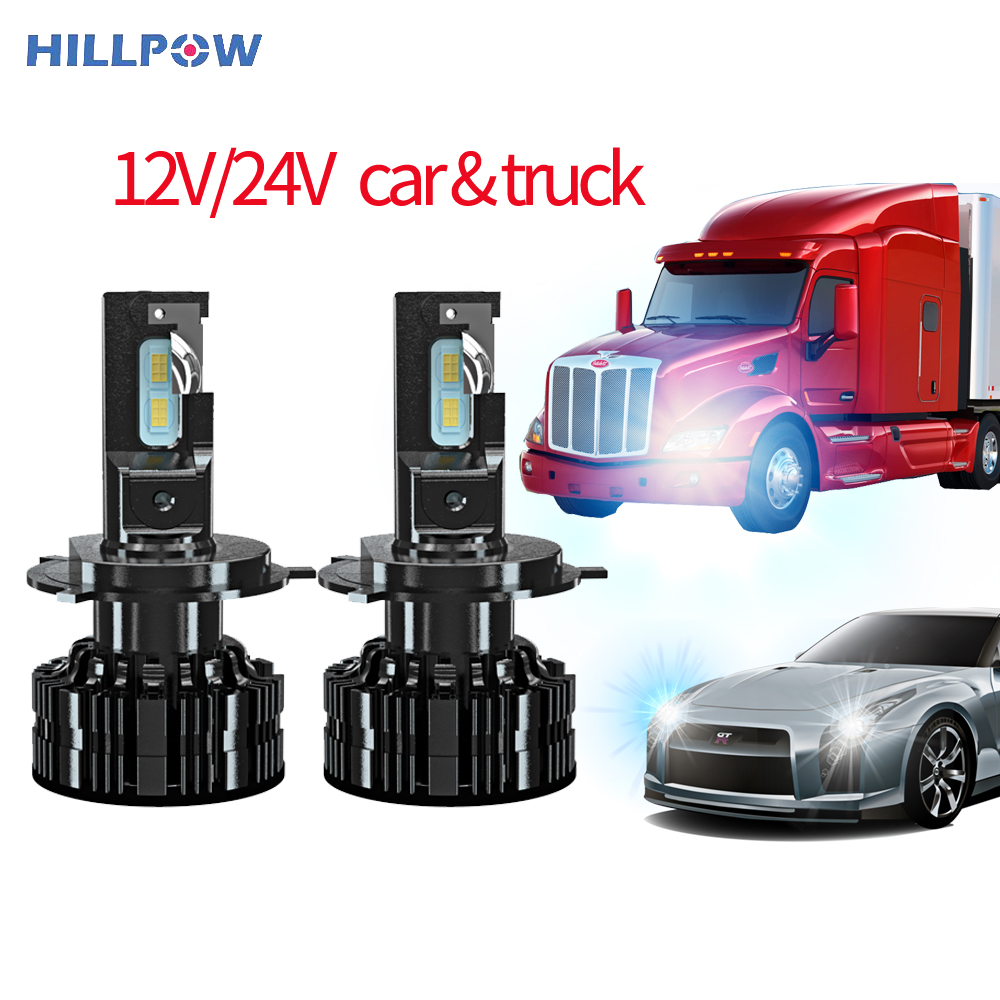 Car Truck H7 Led Headlights Bulbs  H4 Led 12V 24V 15000Lm H1 H3 H11 9005 9006 Waterproof Super Bright Auto Car Headlamps