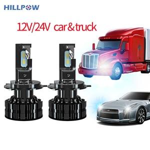 Car Truck h7 led Headlights Bulbs H4 Led 12V 24V 15000Lm H1 H3 H11 9005 9006 Waterproof Super Bright Auto Car Headlamps