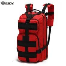 Traveling Backpack Trekking Army Outdoor-Sport Women Climbing Men's 25-30L Bag