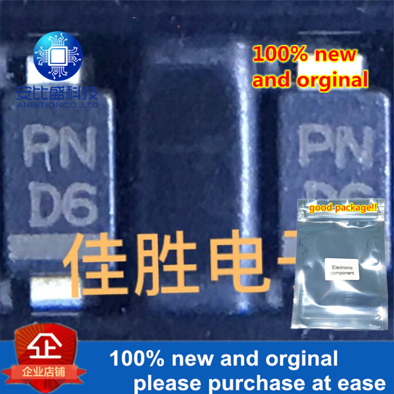 50pcs 100% New And Orginal SMD Zener Diode DO219AB SMF Silk-screen D6 In Stock