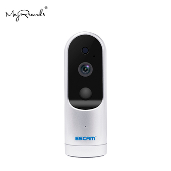 ESCAM Probell QF210 2.8mm Lens HD 960P WiFi IP IR Camera Support ONVIF Surveillance Camera 3000mAh 64GB CCTV Camera Baby Monitor