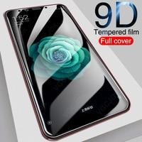 Vetro temperato 9D per Xiaomi Mi 5 5s Plus 5X 6 6X A1 A2 Lite proteggi schermo Mi 8 SE 8 Lite Pocophone F1 vetro protettivo