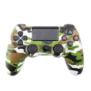 Image 5 - Gamepad sem fio para ps4 colorido lidar com jogo controlador joystick gamepads para playstation 4 ps 4 gaming console joypad controle