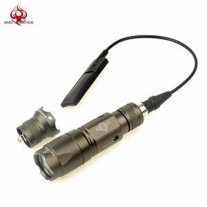 Night Evolution KRISS векторный тактический пистолет свет подсветка для оружия Softair пистолет фонарик Охота Linterna фонарик NE04021