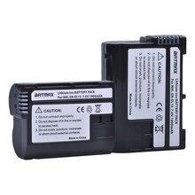 Batterie akku EL15 ENEL15, pour Nikon DSLR D600 D610 D800 D800E D810 D7000 D7100 D7200 L15