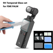 9H Tempered Glass Camera Lens Screen Film Protector for FIMI Palm Gimbal Camera Anti-Scratch PET Soft Film Protective Accessory 2pcs tempered glass screen film protective explosion proof film for fimi palm pocket camera handheld gimbal accessories